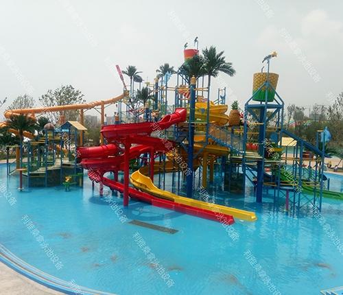 欢乐龙湾温泉水乐园